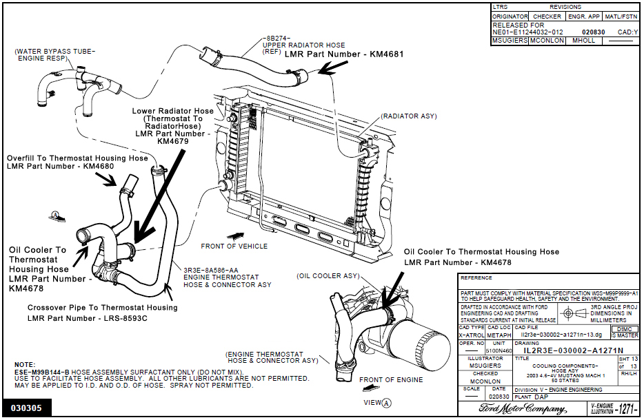 2003 mustang cobra wiring diagram