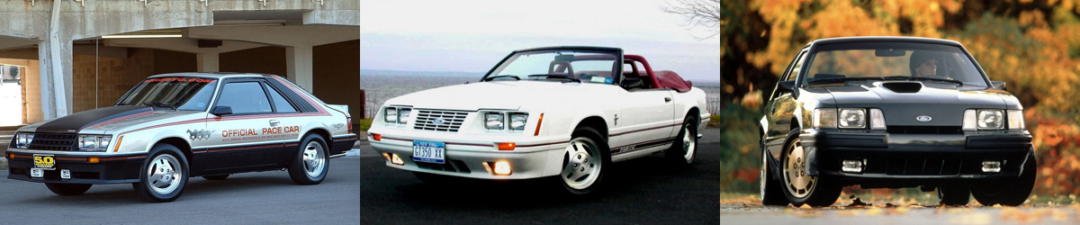 1979-1986 Ford Mustang Specifications - 1979-1986 Ford Mustang Specifications