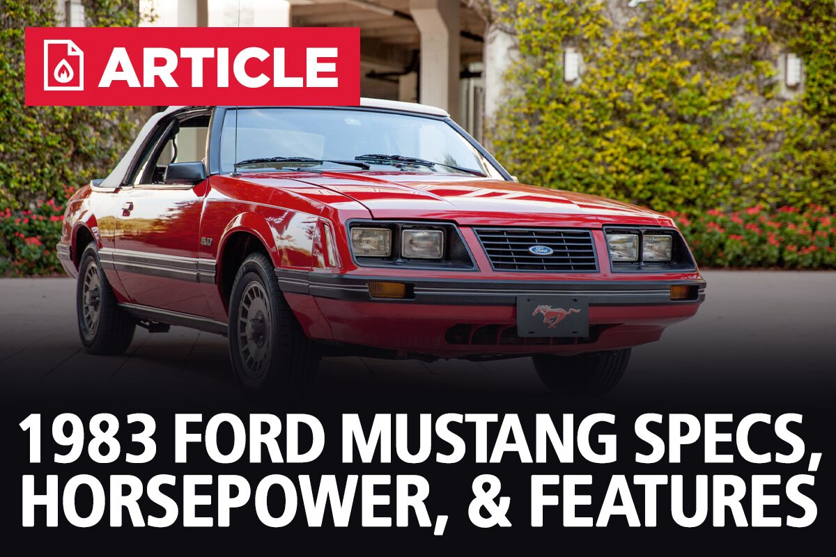 [TVPR_3874]  1983 Ford Mustang Specs, Horsepower, & Features - LMR | 1983 Ford 5 0 Engine Diagram |  | Late Model Restoration