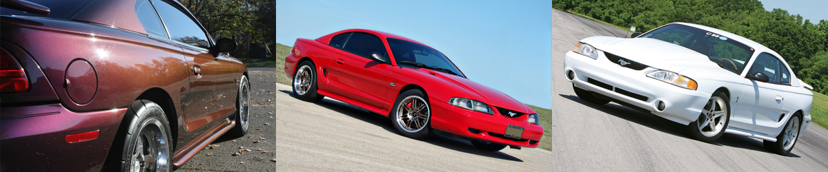 1994-1998 Ford Mustang Specifications - 1994-1998 Ford Mustang Specifications