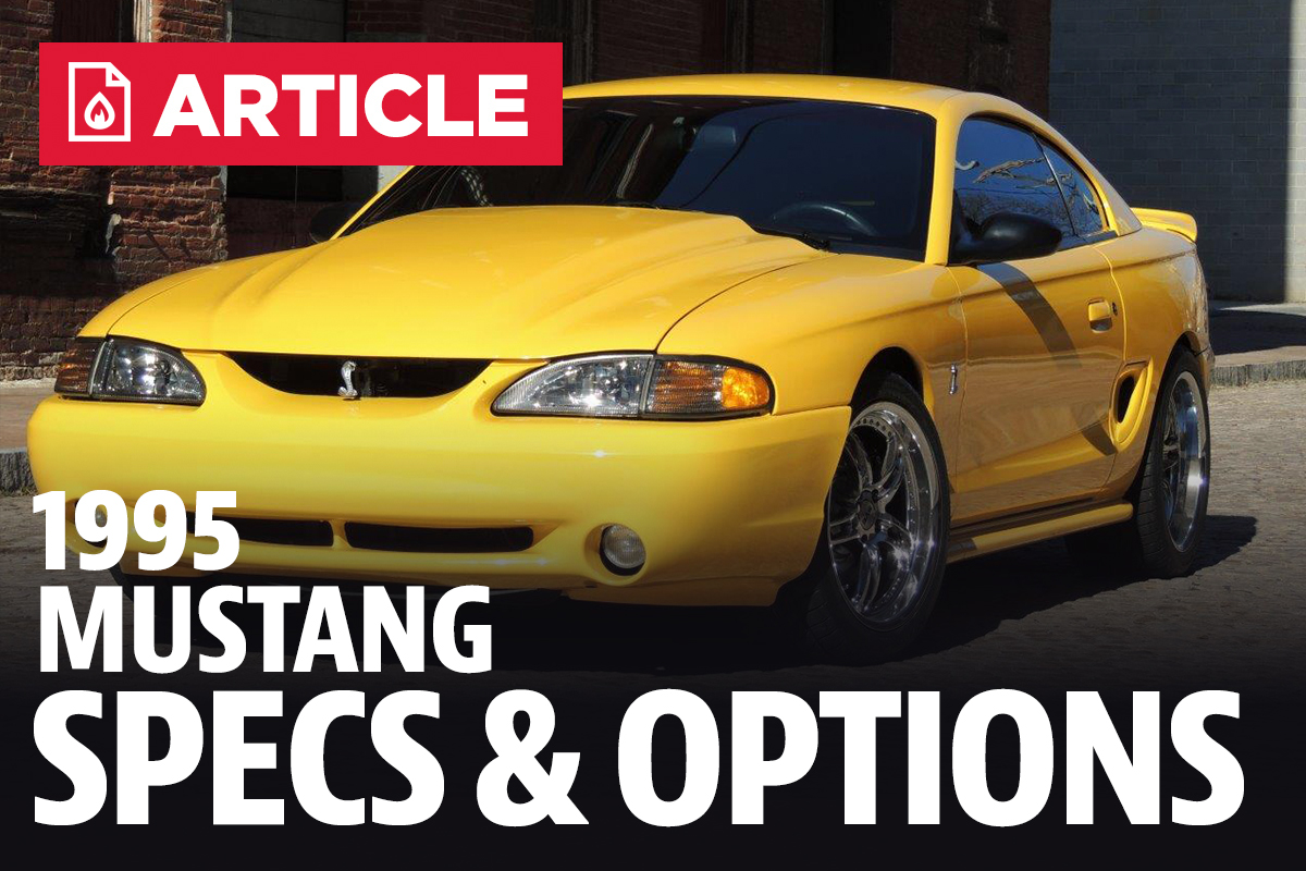1995 Ford Mustang Gt Specs 95 Fuse Diagram Engine