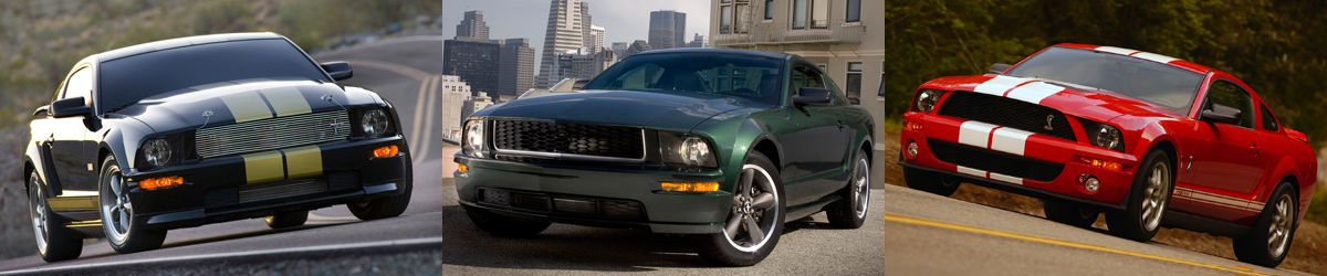 2005-2009 Ford Mustang Specifications - 2005-2009 Ford Mustang Specifications