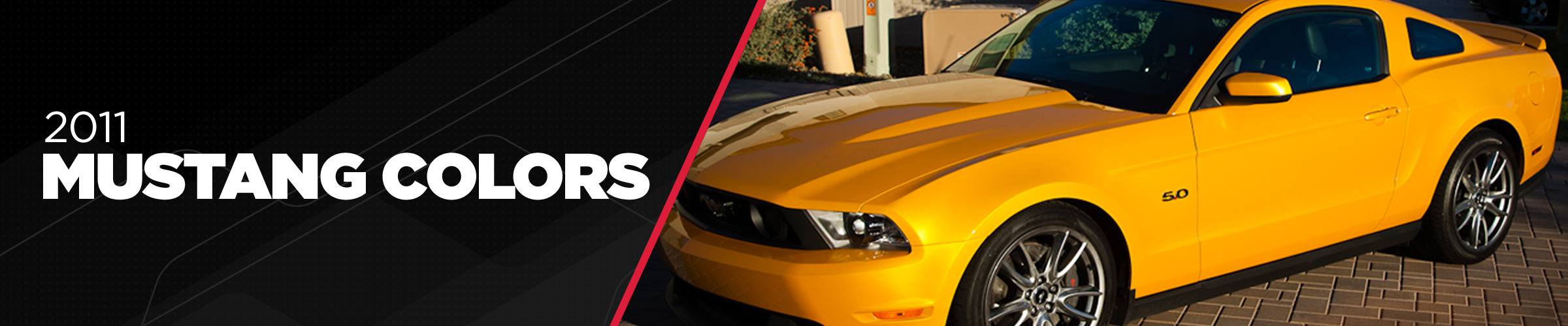 2011 Mustang Colors - Options, Photos, & Color Codes
