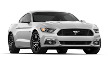 2017 Mustang Colors - Options, Photos, & Color Codes - 2017 Mustang Colors - White Platinum