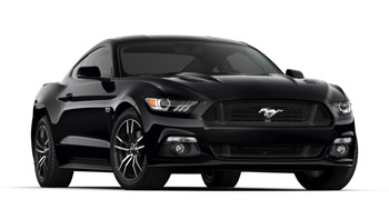 2017 Mustang Colors - Options, Photos, & Color Codes - 2017 Mustang Colors - Shadow Black