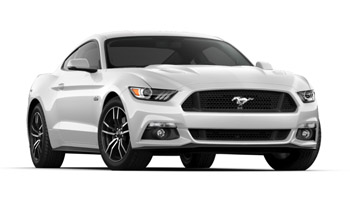 2017 Mustang Colors - Options, Photos, & Color Codes - 2017 Mustang Colors - Oxford Whte