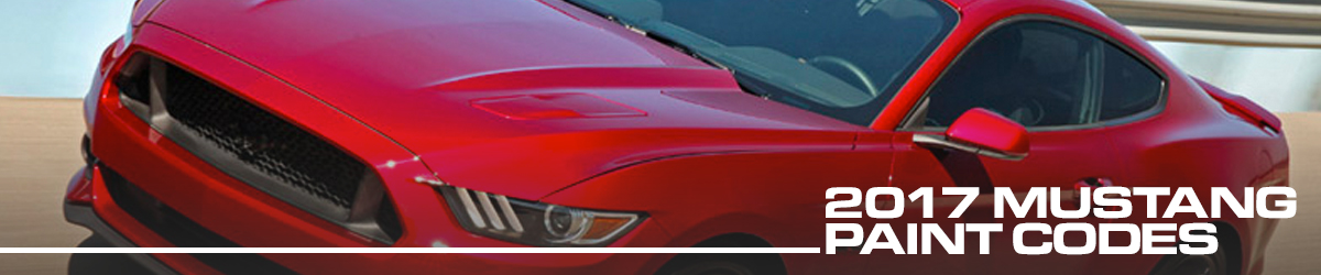 2017 Mustang Colors - Options, Photos, & Color Codes