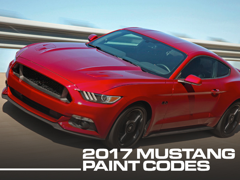 99facc4a1d3 2017 Mustang Colors - Options