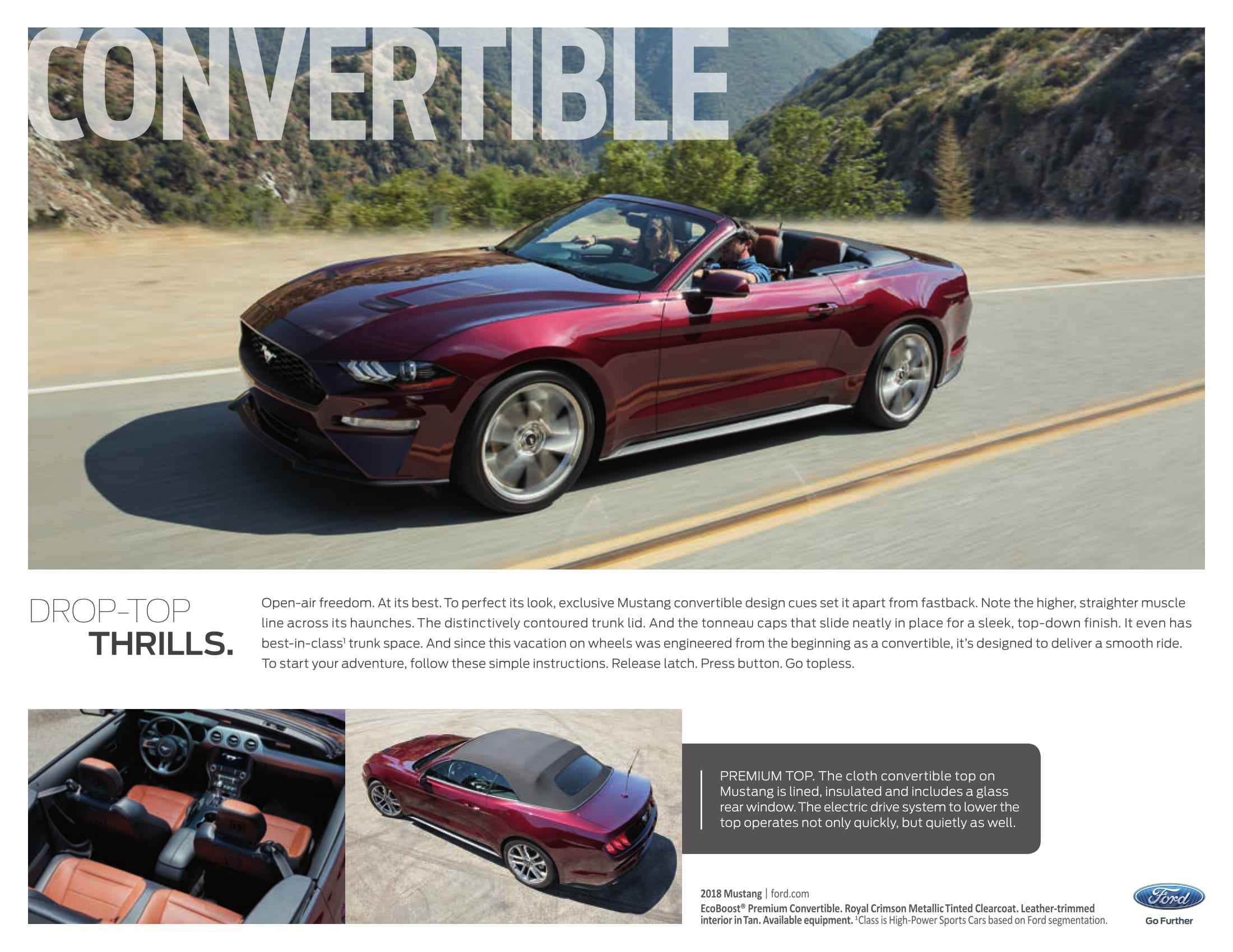 Ford Mustang E Brochure