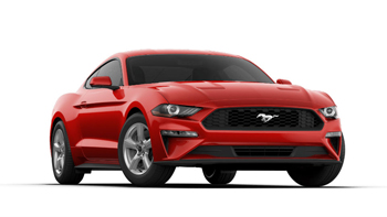 2019 Mustang Color Options - Ruby Red - 2019 Mustang Color Options - Ruby Red