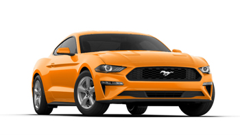 2019 Mustang Colors Options - Orange Fury - 2019 Mustang Color Options - Orange Fury