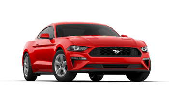 2019 Mustang Color Options - Race Red - 2019 Mustang Color Options - Race Red