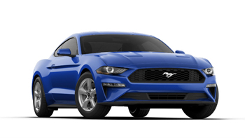 2018 Mustang Color Options Lightning Blue