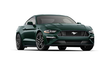 2019 Mustang Colors - Options, Photos, & Color Codes - 2019 Mustang Colors - Dark Highland Green