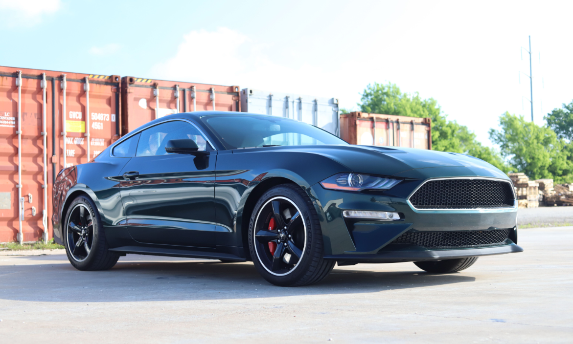 2020 Mustang Colors - Options, Photos, & Color Codes - 2020 Mustang Colors - Options, Photos, & Color Codes - Dark Highland Green