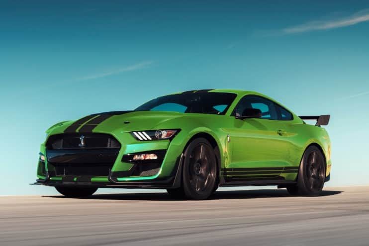 2020 Mustang Colors - 2020 Mustang Shelby GT500 Grabber Lime Green - 2020 Mustang Colors - 2020 Mustang Shelby GT500 Grabber Lime Green