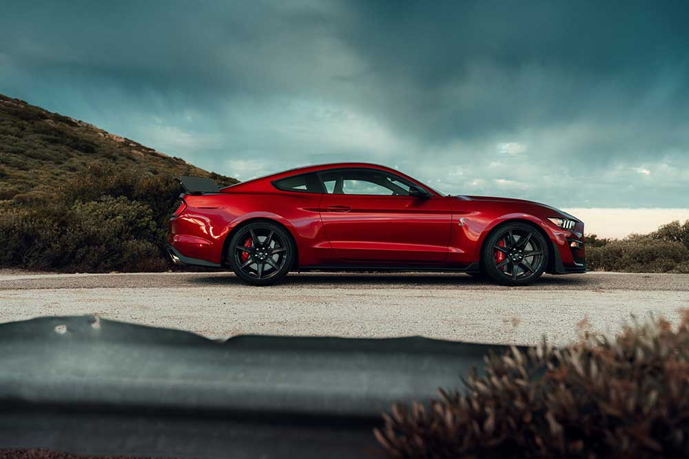 2020 Mustang Colors - 2020 Mustang Shelby GT500 Red Hot Red - 2020 Mustang Colors - 2020 Mustang Shelby GT500 Red Hot Red