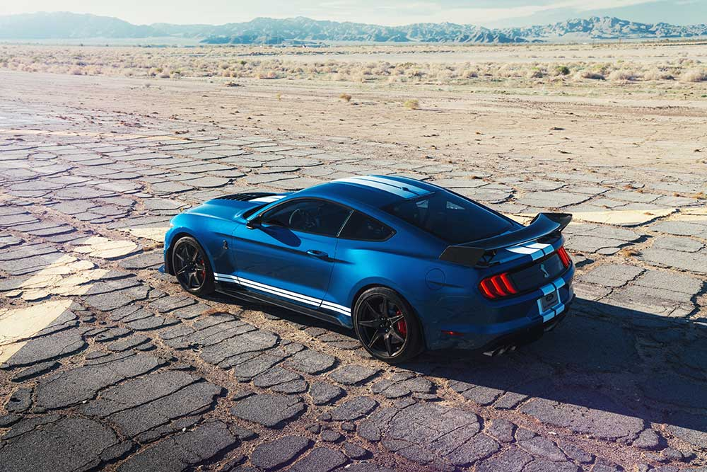 2020 Mustang Colors - 2020 Mustang Shelby GT500 Ford Performance Blue - 2020 Mustang Colors - 2020 Mustang Shelby GT500 Ford Performance Blue