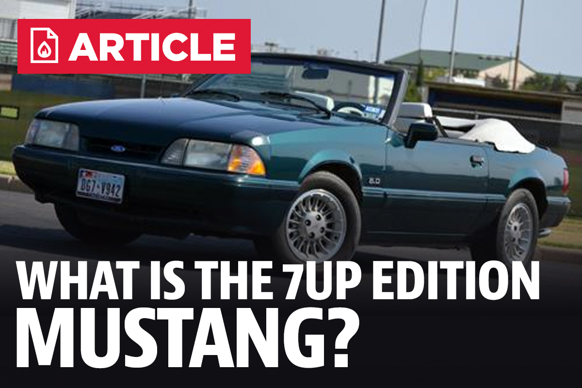 What Is The 7 Up Edition Mustang?