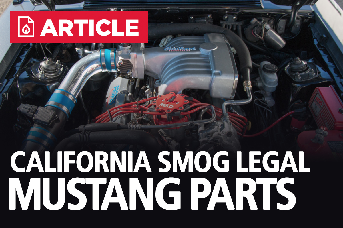 California Smog Legal Mustang Parts 1994 Gt Fuel Filter