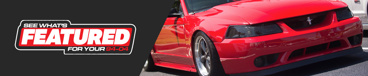 Featured 1994-2004 Mustang Parts