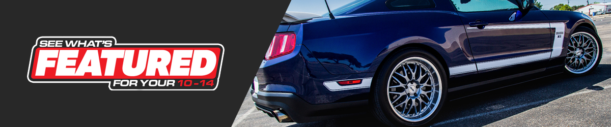 Featured 2010-2014 Mustang Parts