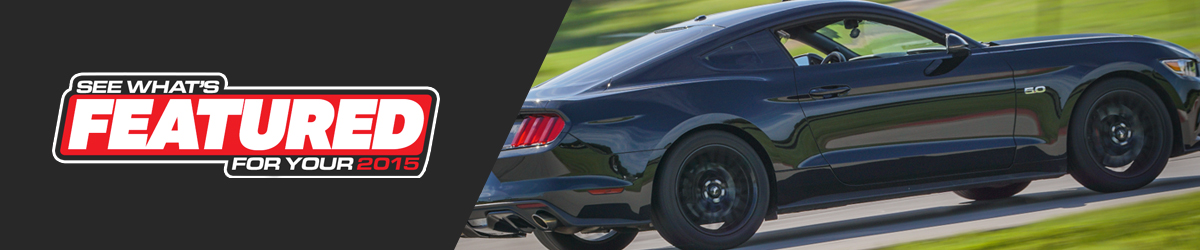 Featured 2015 Mustang Parts