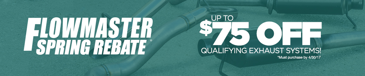 Flowmaster Exhaust Rebate