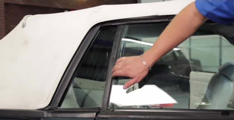 How To Install Fox Body Mustang Convertible Quarter Window Motors  - How To Install Fox Body Mustang Convertible Quarter Window Motors