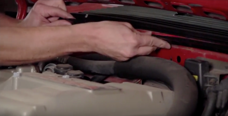How To Install Mustang Firewall To Hood Seal (79-93) - How To Install Mustang Firewall To Hood Seal (79-93)