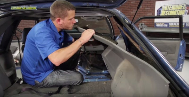 How To Install Fox Body Mustang Headliner (79-93) - How To Install Fox Body Mustang Headliner (79-93)