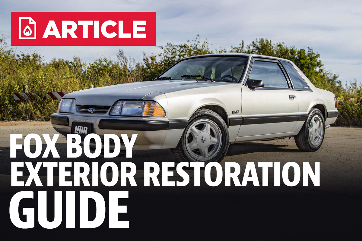Fox Body Parts >> Fox Body Exterior Restoration Guide Lmr Com