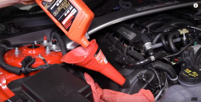 How To Change Mustang GT350 Oil - How To Change Mustang GT350 Oil