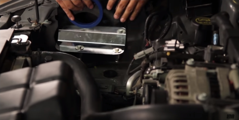 How To Install Mustang Cold Air intake - How To Install Mustang Cold Air intake