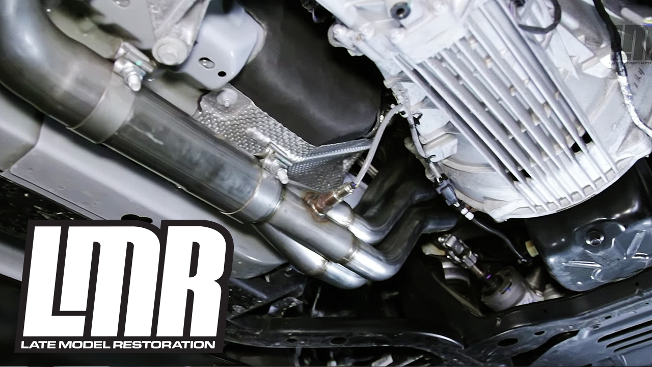 Mustang GT Stainless Power Long Tube Headers Install & Dyno (15-16 5 0L)