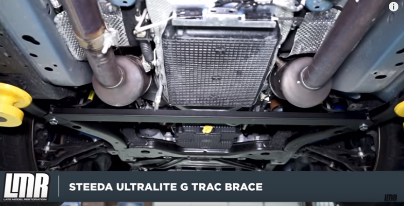 How To Install Mustang Steeda Ultralite 2-Point G-Trac Brace (15-18)  - How To Install Mustang Steeda Ultralite 2-Point G-Trac Brace (15-18)