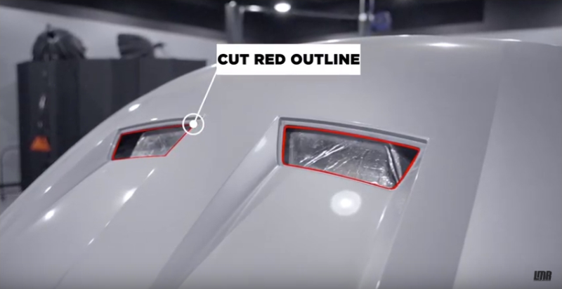 How To Install SVE 03-04 Mustang Cobra Heat Extractor Hood Inserts - How To Install SVE 03-04 Mustang Cobra Heat Extractor Hood Inserts