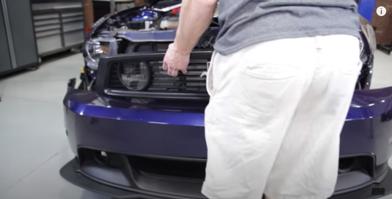 How To Remove 2010-14 Mustang Front Bumper - How To Remove 2010-14 Mustang Front Bumper