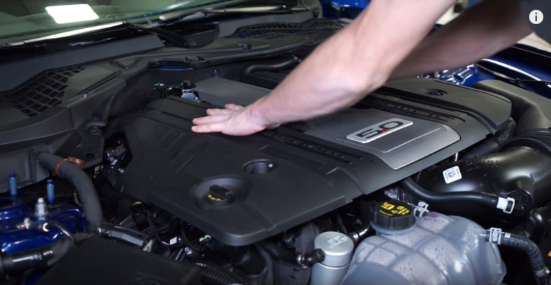 How To Remove 2018 Mustang GT Engine Cover - How To Remove 2018 Mustang GT Engine Cover