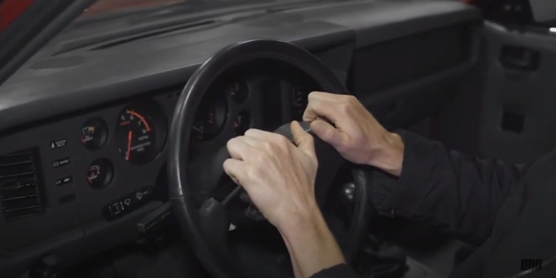 How To Remove 85-86 Fox Body Mustang Steering Wheel - How To Remove 85-86 Fox Body Mustang Steering Wheel