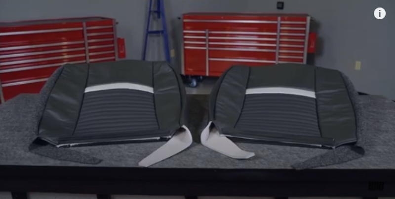 How To Reupholster SN95 Rear Seats | 94-04 Mustang   - How To Reupholster SN95 Rear Seats | 94-04 Mustang