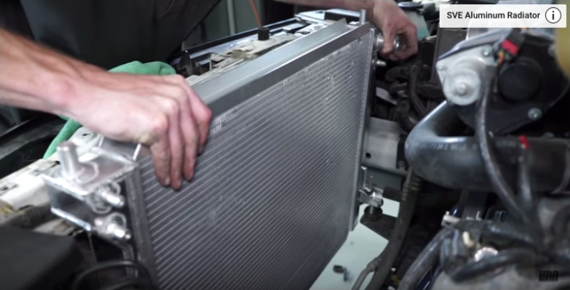 How To Install Mustang Aluminum Radiator (05-09) - How To Install Mustang Aluminum Radiator (05-09)