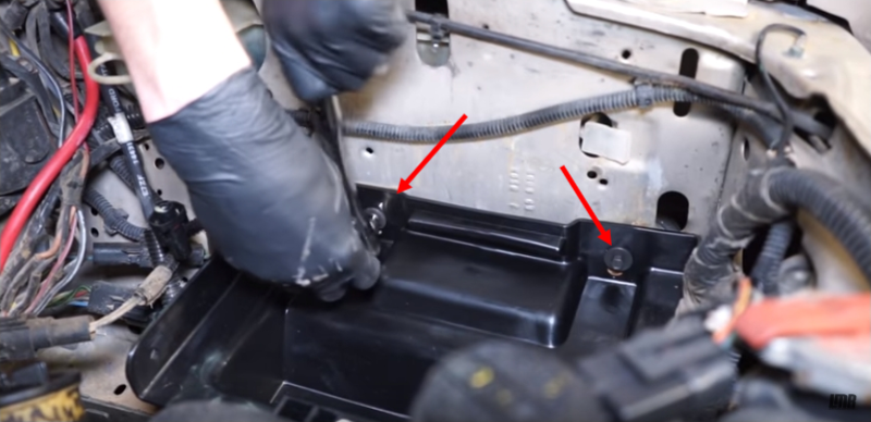 How To Install Fox Body Battery Tray & Cable Kit - How To Install Fox Body Battery Tray & Cable Kit