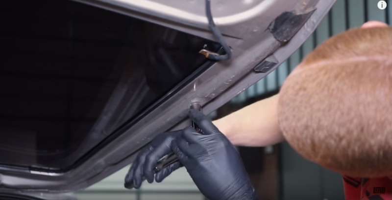 How To Install Fox Body Mustang Hatch Lift Support Brackets - How To Install Fox Body Mustang Hatch Lift Support Brackets