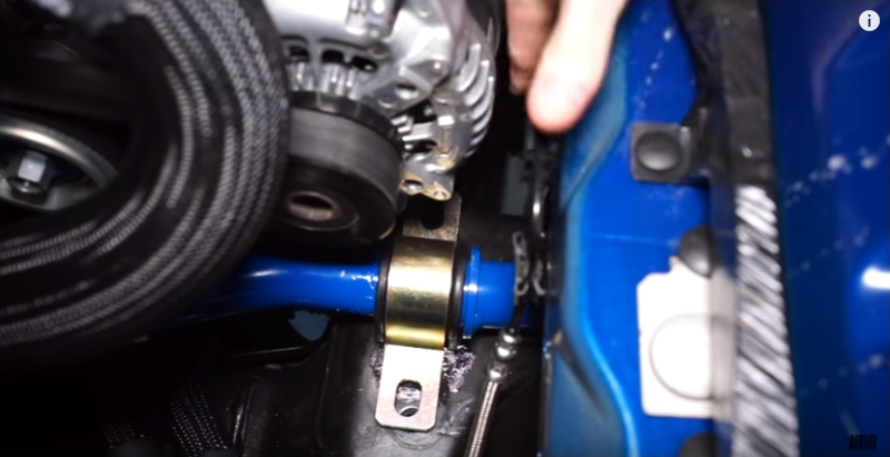 How To Install Mustang Front Sway Bar (15-18) - How To Install Mustang Front Sway Bar (15-18)