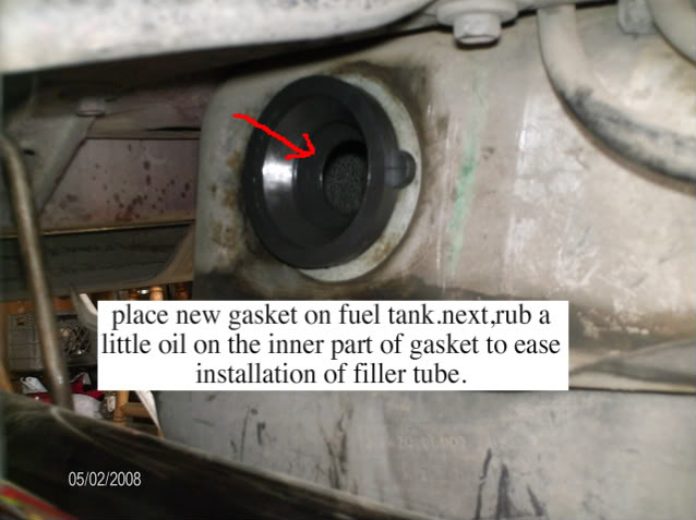How To Install 1982-1997 Mustang Fuel Filler Neck Grommet - How To Install 1982-1997 Mustang Fuel Filler Neck Grommet