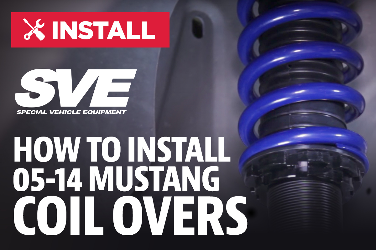 How To Install Mustang SVE Coilovers (05-14) - LMR com