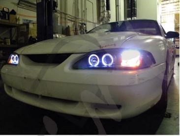 How To Install SVE Halo LED Projector Headlights - How To Install SVE Halo LED Projector Headlights