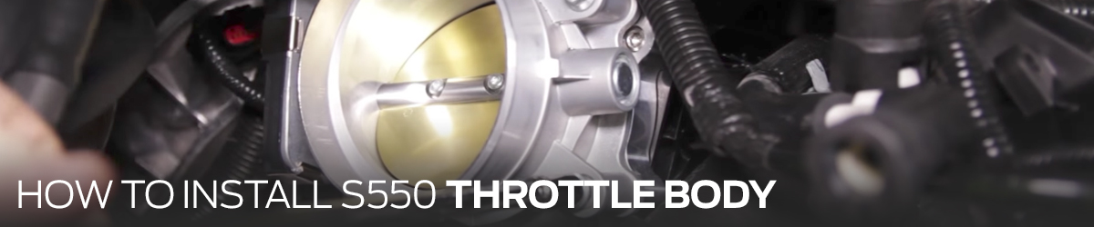 How To Install Mustang Throttle Body 2015-17
