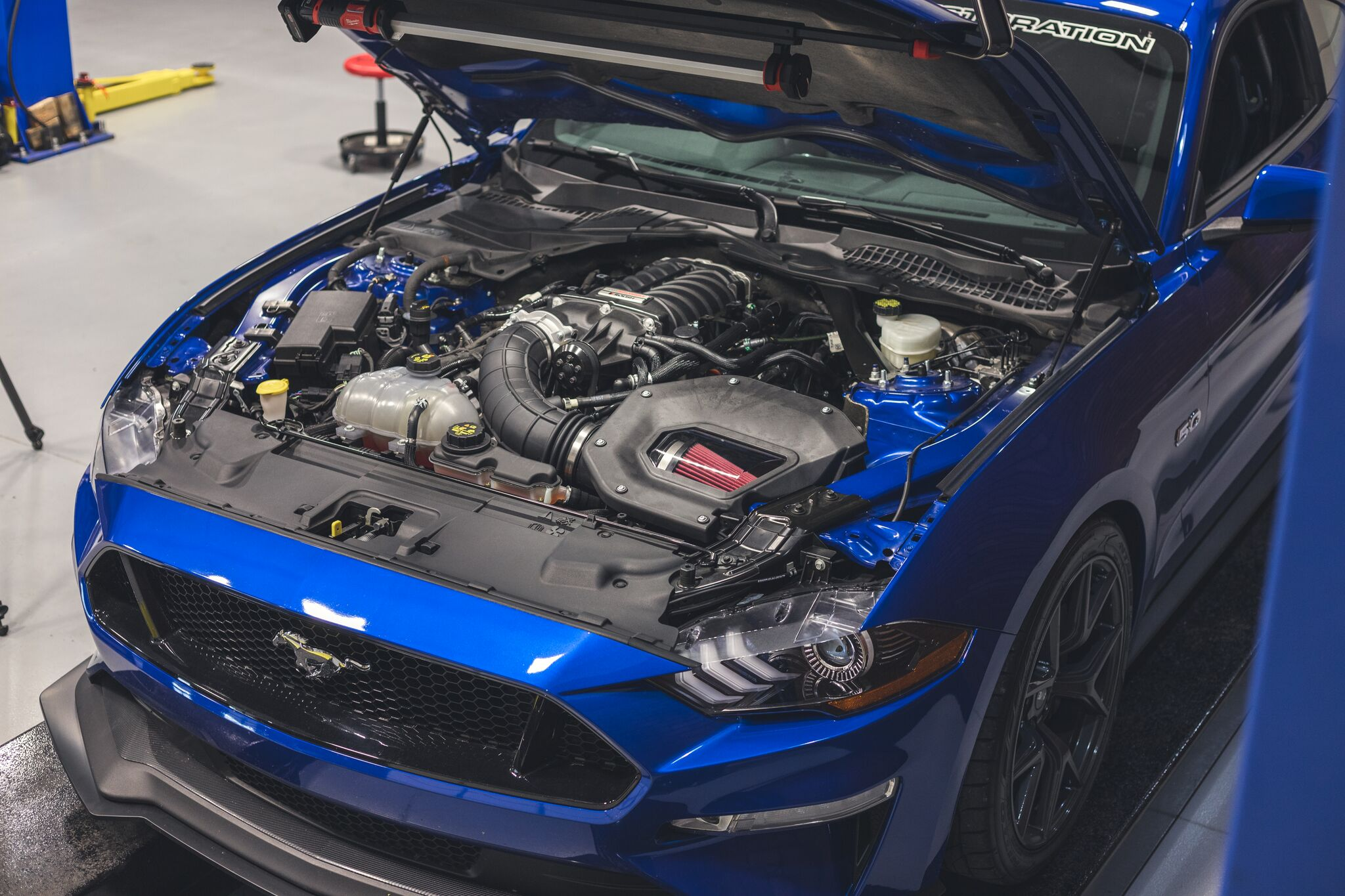 LMR Shop Car Build - 2018 Blue Mustang GT - LMR Shop Car Build - 2018 Blue Mustang GT
